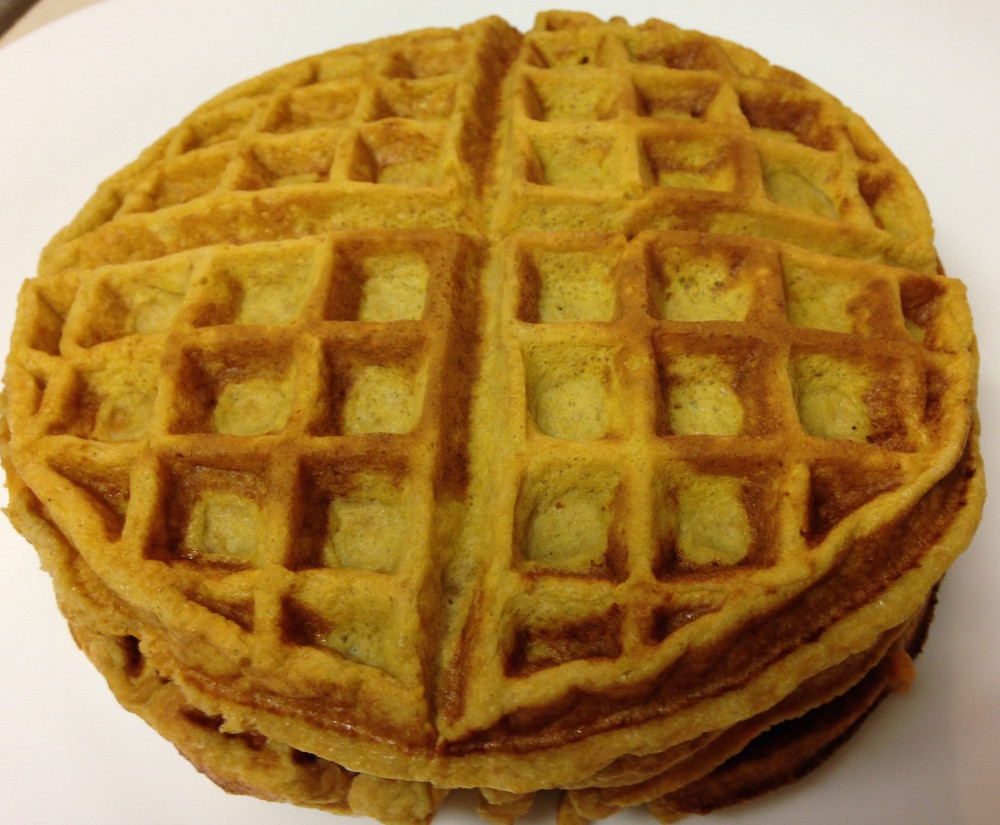 Sweet Potato Waffles - Margaret Wertheim, MS, RD